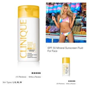 Mineral Sunscreen SPF 30 for face and body
